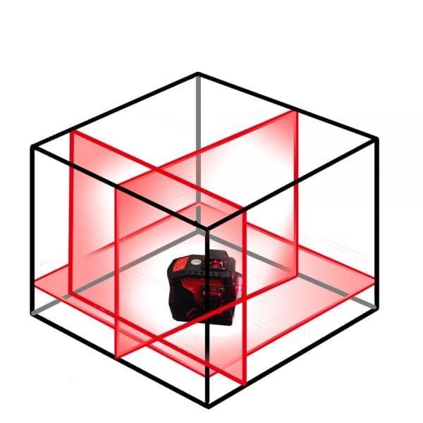 HY3D Cross Line Laser Level