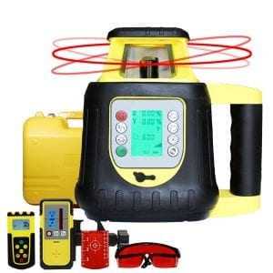 FRE208 Dual Grade Digital Self Leveling Rotary Laser Level