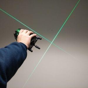 2V1HG Green Beam Cross Line Laser Level
