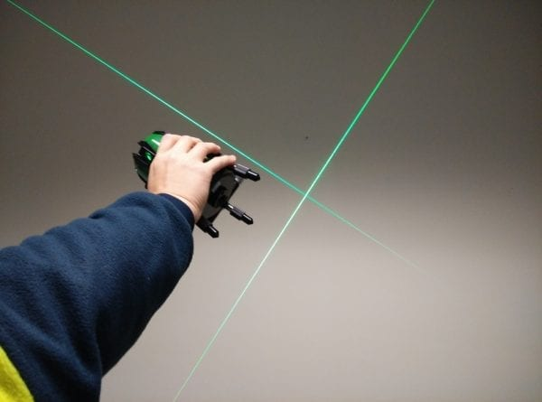 2V1HG Green Beam Cross Line Laser Level