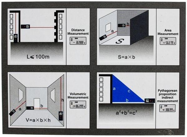 LD40 40M Laser Distance Meter