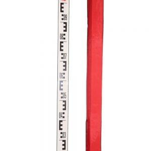 5M 5 Sections Aluminum Staves for Dumpy Level Rotary Laser Level