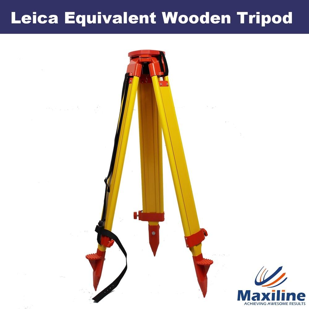 S20 Wooden Tripod For Leica Topcon Trimble Theodolite Total Station Laser Level