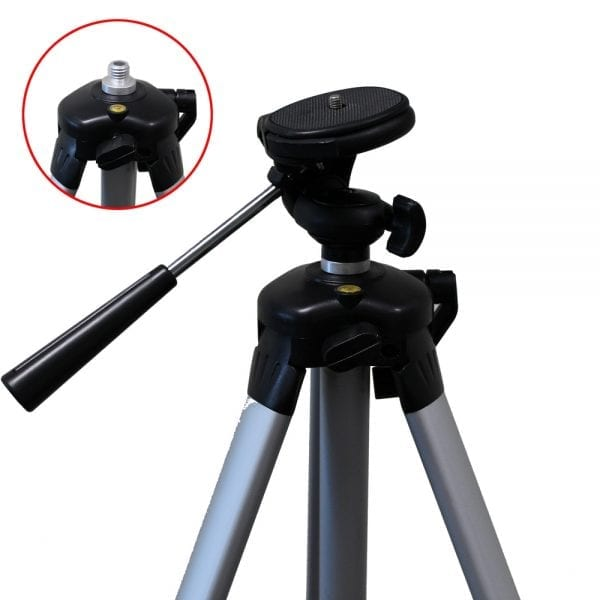 1/4″ & 5/8″ Thread Laser Tripod for Laser Level Distance Measurer Camera