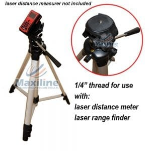 1/4″ Thread Laser Tripod for Laser Level Distance Measurer Camera