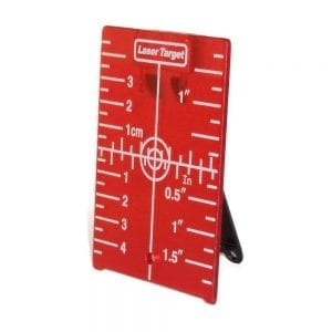05HDTAG Red Magnetic Target for Rotary Laser Level Line Laser Level Distance Measurer