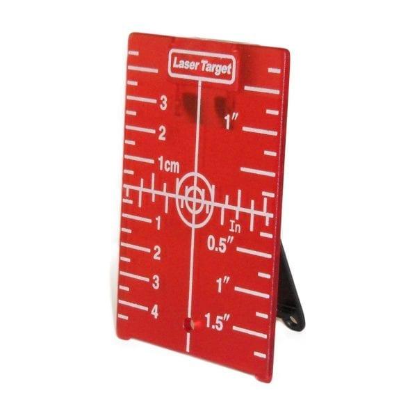 05HDTAG Red Magnetic Target for Rotary Laser Level Line Laser Level Distance Measurer