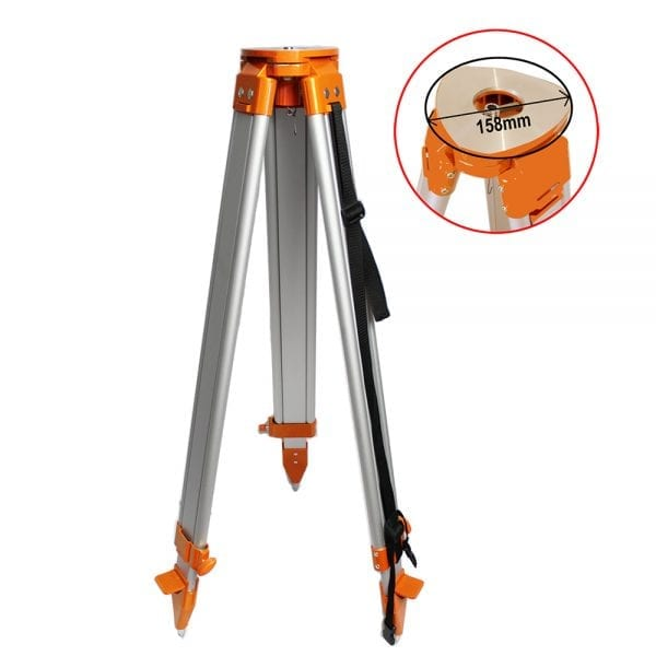 1.7M Big Flat Head Tripod for Laser level Dumpy Level Theodolites