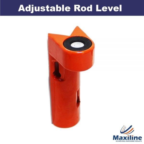 Adjustable Aluminium Rod Level for Staff Rods Range Poles